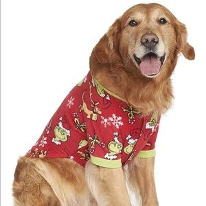 How the Grinch Stole Christmas Dog Outfit 2X.